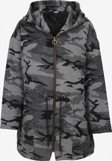 Urban Classics Curvy Prehodna jakna | siva / antracit barva, Prikaz izdelka
