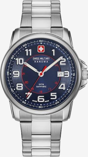 SWISS MILITARY HANOWA Uhr in blau / silber, Produktansicht