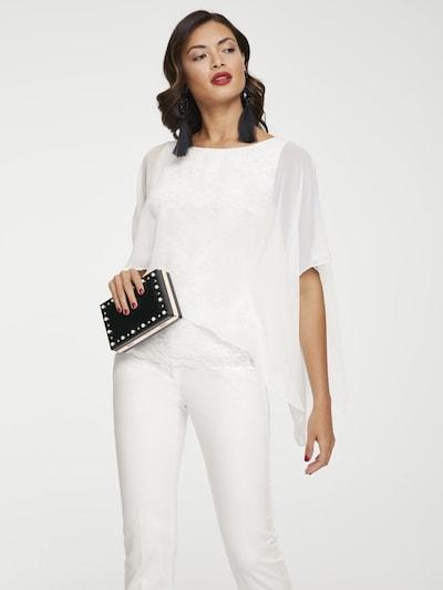 heine Blouse in de kleur Offwhite, Modelweergave