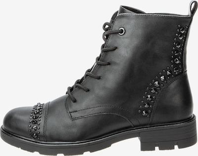 Keddo Biker Boots in schwarz, Produktansicht