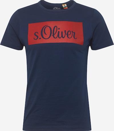 s.Oliver Majica | temno modra / češnjevo rdeča barva, Prikaz izdelka