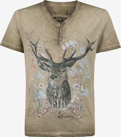 STOCKERPOINT Shirt 'Günther' in dunkelbeige, Produktansicht