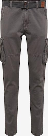 INDICODE JEANS Pantalon cargo 'Villiam' en gris foncé, Vue avec produit