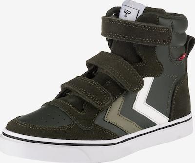 Hummel Tenisice 'Stadil' u kaki / tamno zelena / bijela, Pregled proizvoda