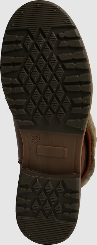 Trend mit #9975 BULLBOXER | Stiefel mit Trend Fellumschlag 3e987a