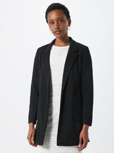 ONLY Mantel 'ONLBAKER-AUBREE L/S STRIPE COATIGAN PNT' in schwarz, Modelansicht