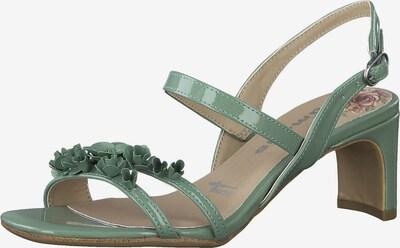 TAMARIS Sandale in mint, Produktansicht