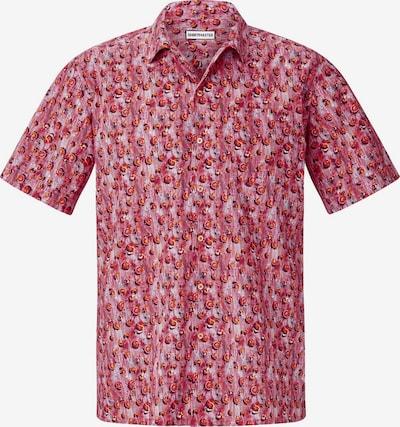 Shirtmaster Chemise 'Squeezeit' en rouge, Vue avec produit