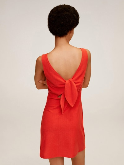 MANGO Kleid in rot   ABOUT YOU