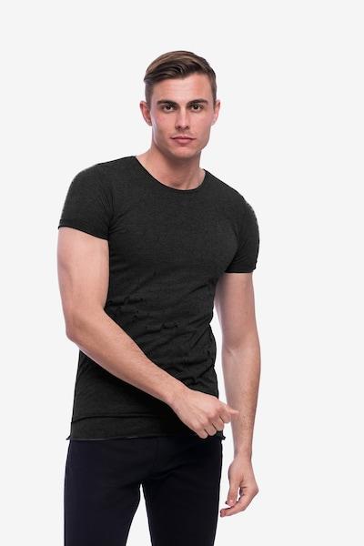 Tom Barron Rundhalsshirt in schwarz, Produktansicht