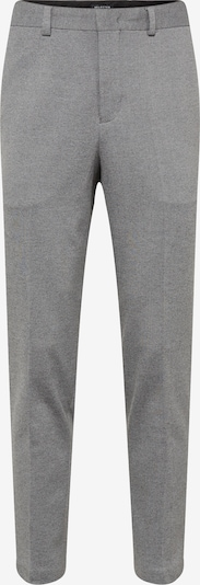 SELECTED HOMME Bügelfaltenhose in grau: Frontalansicht