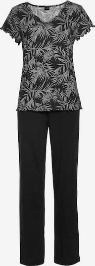 VIVANCE Pyjama in schwarz / weiß, Produktansicht