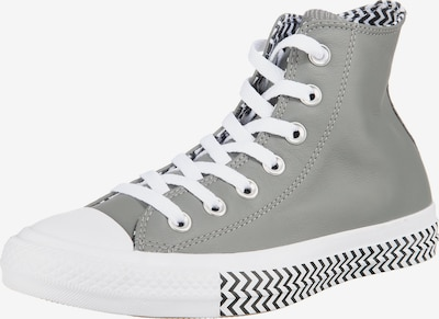CONVERSE Sneakers High 'Chuck Taylor All Star' in grau / schwarz / weiß, Produktansicht