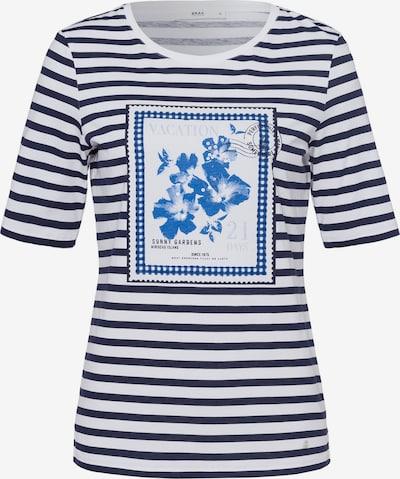 BRAX Shirt  'Collette' in blau / weiß, Produktansicht