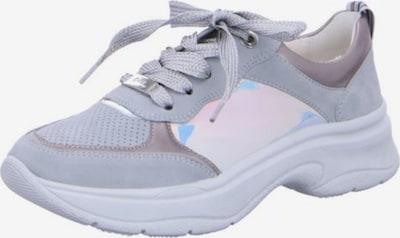 ARA Sneakers in beige / mint / silber: Frontalansicht