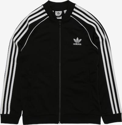 ADIDAS ORIGINALS Prehodna jakna 'Superstar Top' | črna / bela barva, Prikaz izdelka