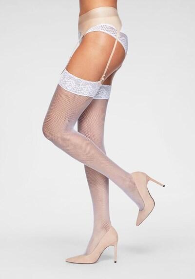 LASCANA Jarretelkousen in de kleur Wit, Productweergave