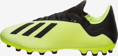 ADIDAS PERFORMANCE Voetbalschoen 'X 18.3 AG' in de kleur Geel / Zwart, Productweergave