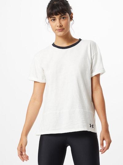 UNDER ARMOUR Funkčné tričko - tmavosivá / biela, Model/-ka