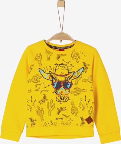 s.Oliver Junior Sweatshirt in gelb, Produktansicht