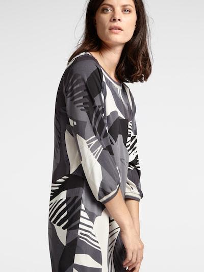 Sandwich Kleid in anthrazit, Modelansicht