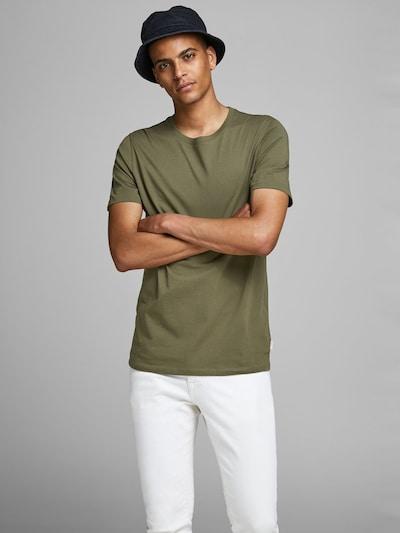 JACK & JONES T-Shirt in oliv: Frontalansicht