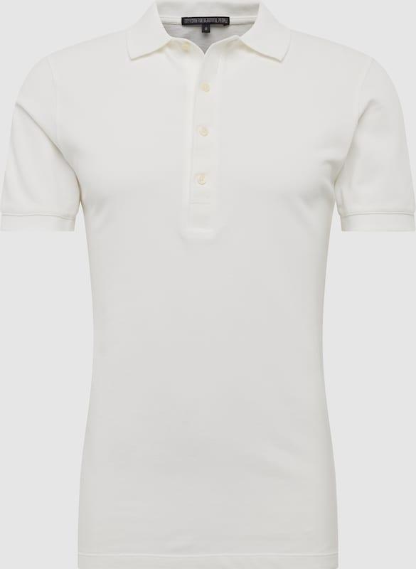 DRYKORN Poloshirt 'GARRY' in weiß  Große Preissenkung