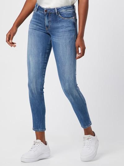 GUESS Džinsi 'ULTRA CURVE' pieejami zils džinss, Modeļa skats