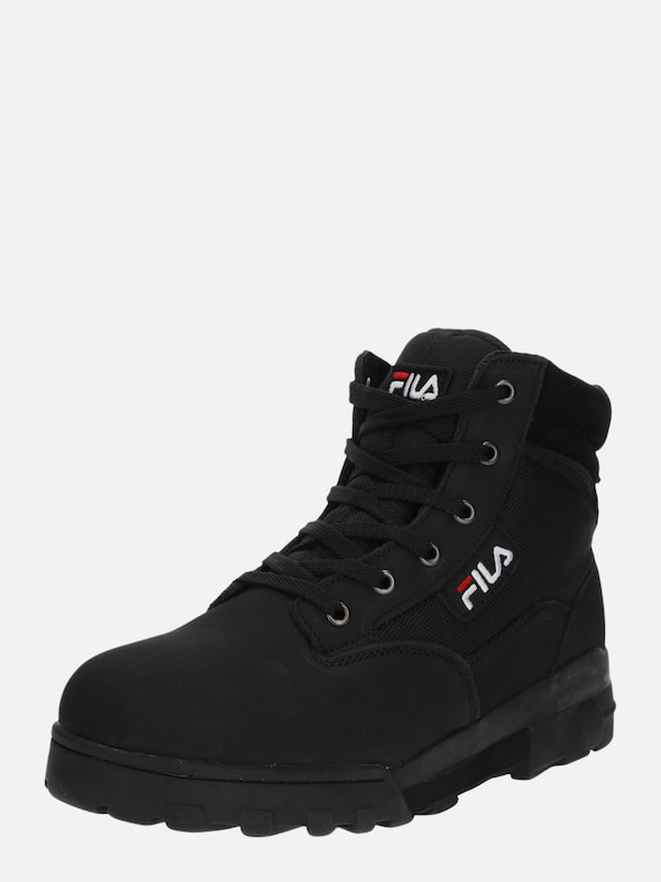 abcf5a85087 FILA Veterboots 'Grunge mid' in Zwart | ABOUT YOU