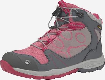 JACK WOLFSKIN Outdoorschuh 'Grivla' in grau / pink, Produktansicht