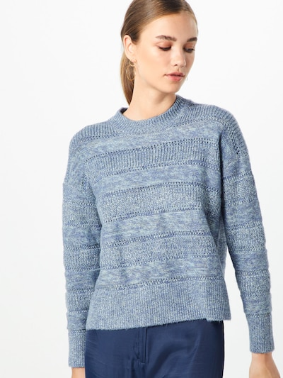 Pepe Jeans Pullover 'CHARLOTTE' in grau, Modelansicht