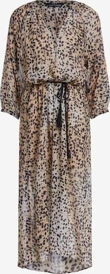 SET Robe-chemise en beige / beige clair / noir chiné, Vue avec produit