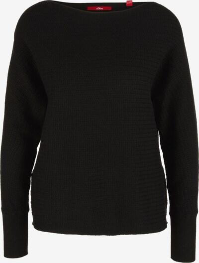 s.Oliver Pullover in schwarz, Produktansicht