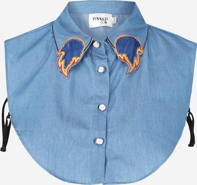 Apykaklė iš Pinned by K , spalva - šviesiai mėlyna, Prekių apžvalga