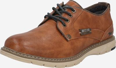 Batai su raišteliais iš MUSTANG , spalva - ruda (konjako), Prekių apžvalga