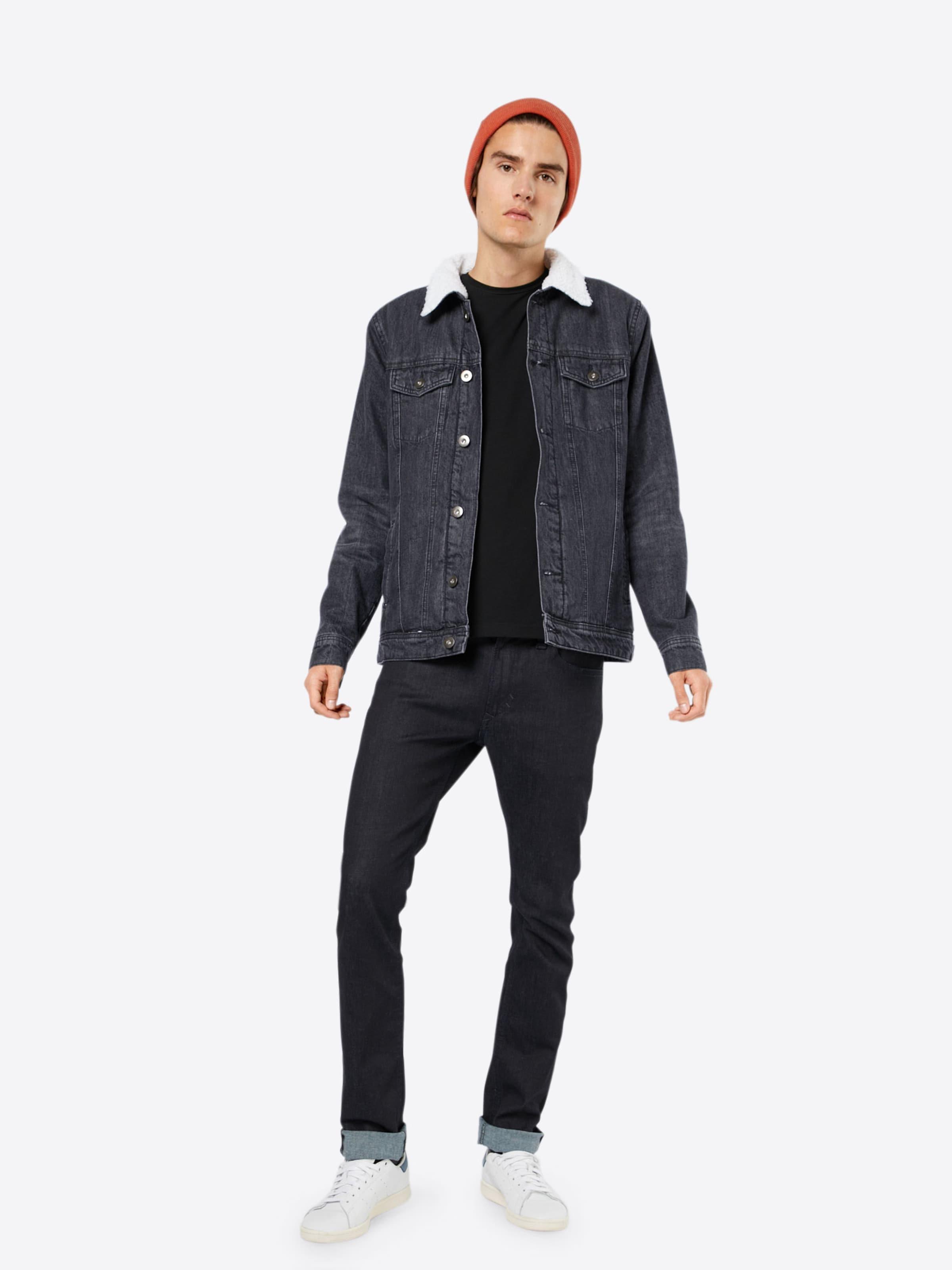 Urban Classics Jeansjacke 'Sherpa' Verkauf Outlet-Store Günstig Kaufen 100% Authentisch Rabatt-Shop XRrFHwms