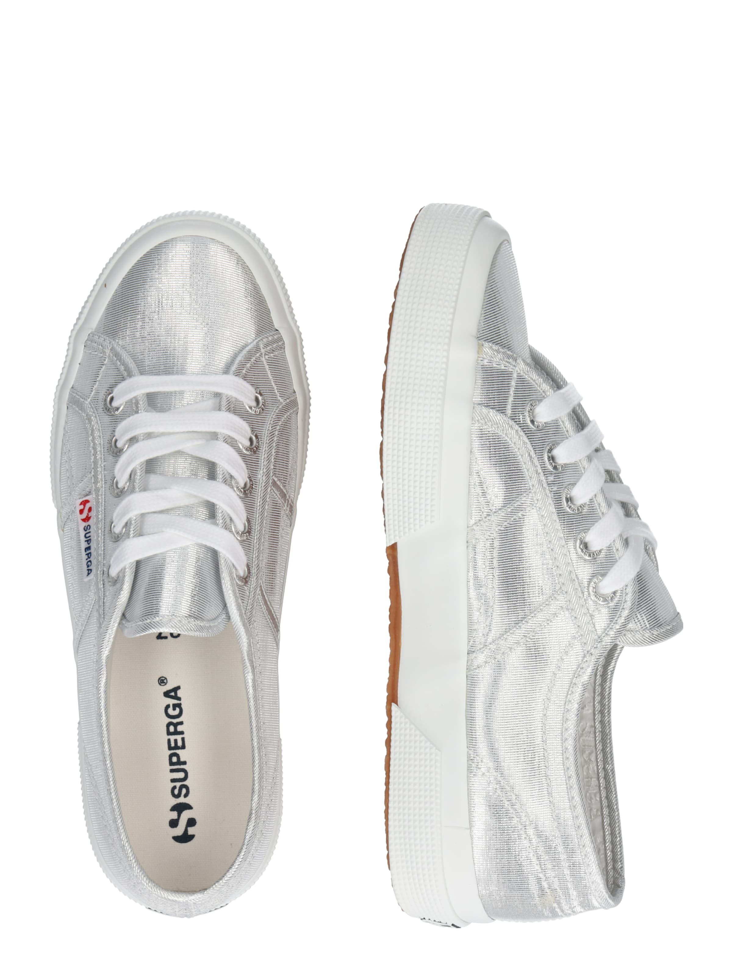 microlamew' In Silber Superga Sneaker '2750 eCBxWQdroE