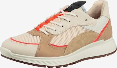 ECCO Sneaker in beige / orange / naturweiß, Produktansicht