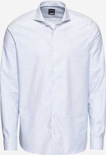 OLYMP Poslovna srajca 'Level 5 Struktur Twill' | svetlo modra barva, Prikaz izdelka