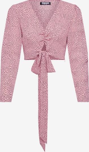 Fashion Union Bluza 'LAMB' | roza / burgund barva, Prikaz izdelka