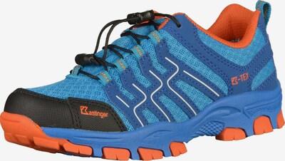 Kastinger Wanderschuhe in blau / orange, Produktansicht