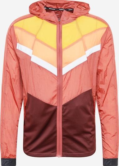 NIKE Sportjas 'Windrunner' in de kleur Geel / Sinaasappel / Koraal / Bordeaux, Productweergave