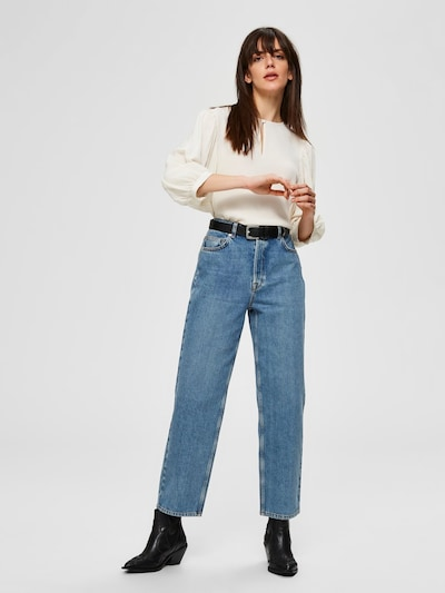 SELECTED FEMME Jeans in blau: Frontalansicht