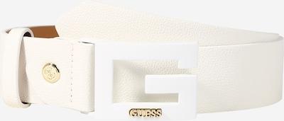 GUESS Gürtel 'Janay' in weiß, Produktansicht