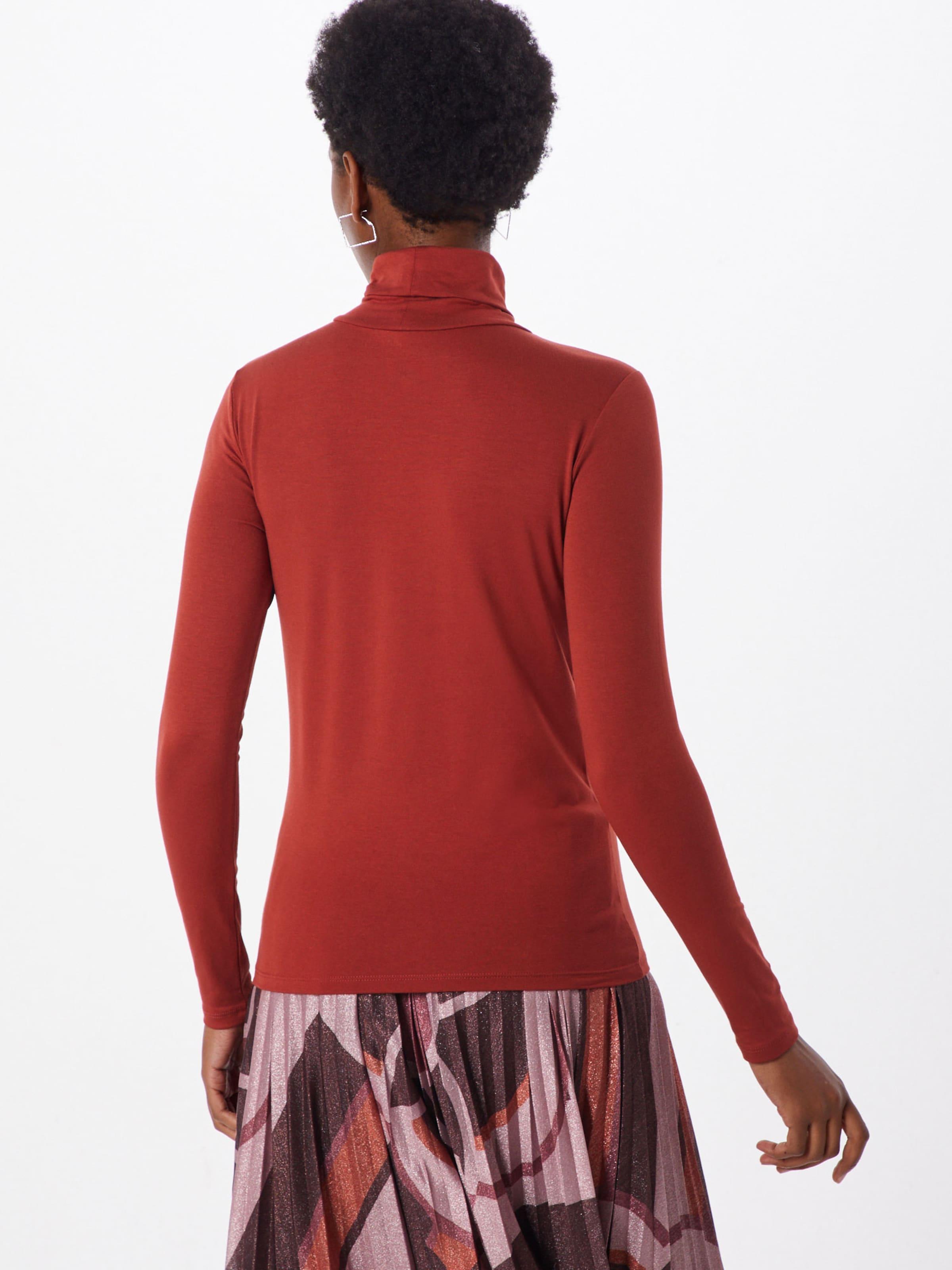 Rollneck Luxury 'hanadi Bourgogne In T shirt Soaked Ls' En OiuZTwXPk
