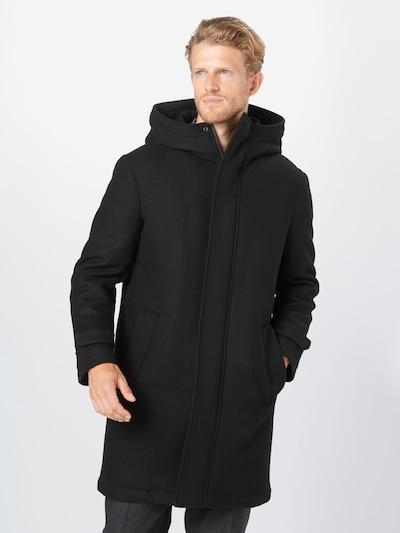DRYKORN Zimski plašč | črna barva, Prikaz modela
