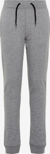 NAME IT Hose 'NKMSWEAT PANT UNB NOOS' in graumeliert: Frontalansicht