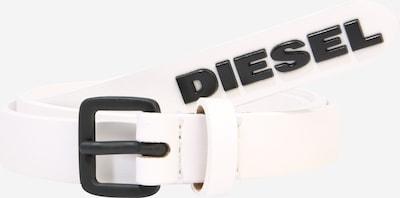 DIESEL Gürtel 'B-LOWGO ' in weiß, Produktansicht