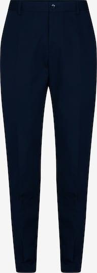 Calvin Klein Tapered Cotton Linen Trousers ' ' in blau, Produktansicht
