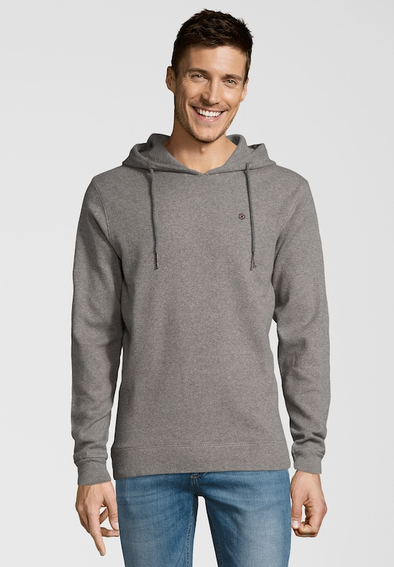 Shirts for Life Hoodie 'Mike' in greige: Frontalansicht
